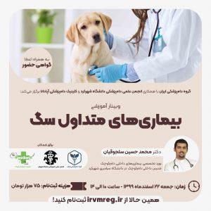 بیماریهای متداول سگ - گروه دامپزشکی ایران
